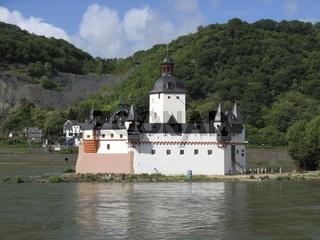 Pfalz Kaub am Rhein, Deutschland