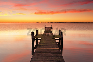 Sunrise Jetty Pier