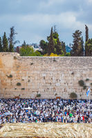 Western Wall of the Temple