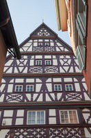 Half-timbering house in Oehringen, Germany