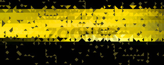Abstract powerful panorama background pattern