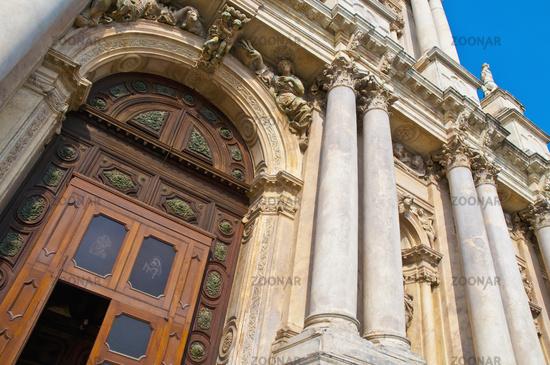 Degli Scalzi church at Venice, Italy