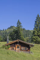Obere Orterer Alm south of the Benedict Wall