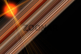 Futuristic stripe background design with lights