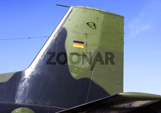 Ruder von Transall C-160