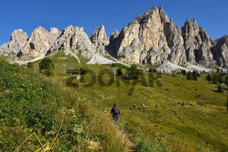 Puezgruppe; Dolomiten; Suedtirol; Italien