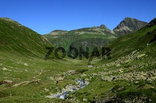 Bieltal im Silvrettagebiet, Montafon, Oesterreich