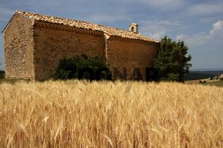 Kapelle in Entrevennes, Provence, Frankreich