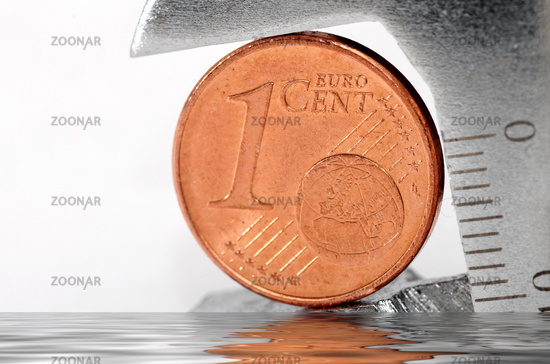 one eurocent