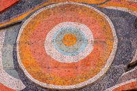 Mosaic of Laguna Vere, Tbilisi