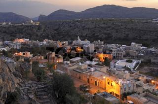 Nachtaufnahme von Qatana, Saiq Plateau, Oman