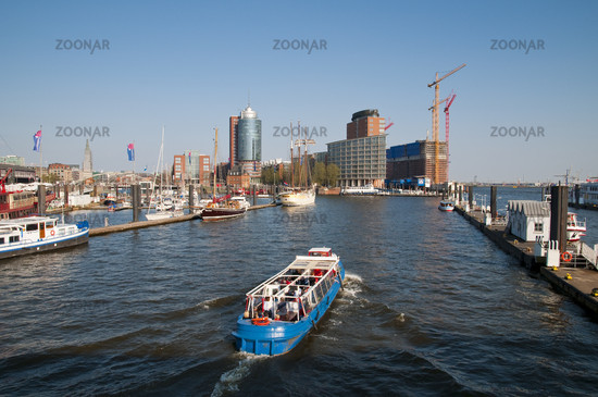 Hamburg, Germany, Harbor Impressions