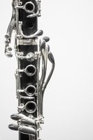 clarinet keywork closeup