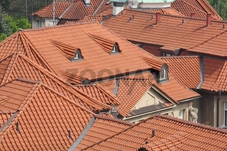 Tiled Building Roofs