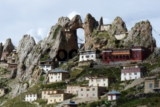 Tibetan lamasery Zizhusi