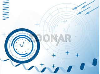 Abstract vector background for company presentation