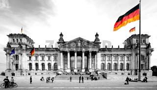 Bundestag color-key