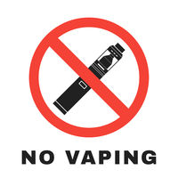vector vaporizers prohibited sign design