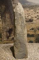 Warrior Stela of Magacela, Badajoz, Spain
