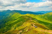 Mountains tourism