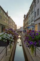 Flower canal Wittenberg