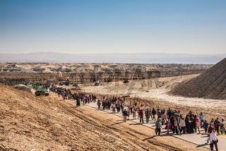 The visiting the Jordan River