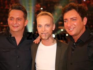 Duo Fantasy mit Sänger Sandro nach der ARD TV-Show Schlager Countdown in Oldenburg am 25.03.2017