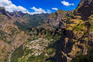 Mountains landscape - Madeira Portugal