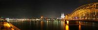 Köln Rhein Panorama