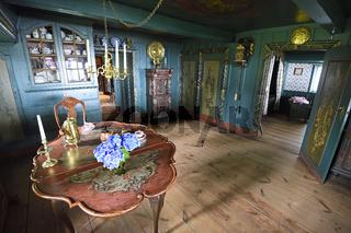 Wohnstube, Museum altfriesisches Haus, Keitum, Sylt, nordfriesis