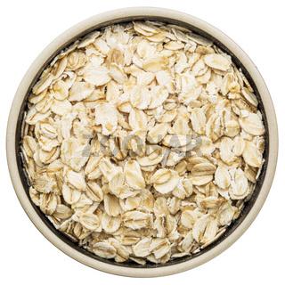 organic rolled oats