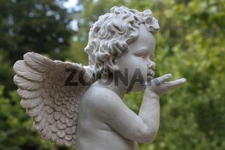 Engel, Skulptur, Schutzengel, Sculpture, Angel, Guardian Angel