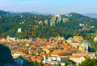 Skyline of Brasov, Romania