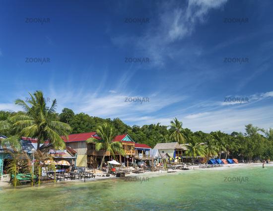 koh rong island beach bars in cambodia