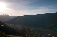 Sunrise in South Tyrol