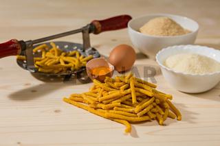 Passatelli original Italian pasta