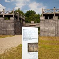 Roman park Aliso, LWL-Roman museum, Haltern, Ruhr area, North Rhine-Westphalia, Germany, Europe
