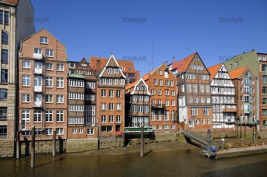Hamburg, Germany, Historic Houses