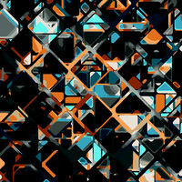 Abstract vector geometric tech eps10 background for use in design