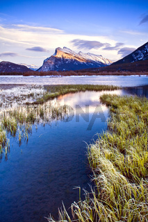 Evening light at Vermillion Lakes, Banff, Canada