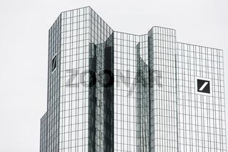Hochhaus der Deutschen Bank in Frankfurt