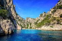 Calanque d'En Vau near Marseilles, France