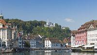 Lucerne cityscape, switzerland