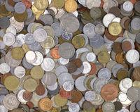 World coins texture