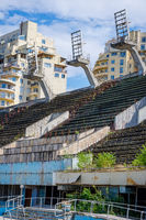 Abandoned swimming pool, Tbilisi