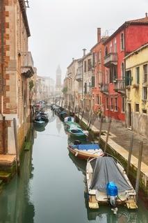 Foggy day in Venice