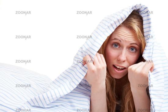 Angst unter der Bettdecke