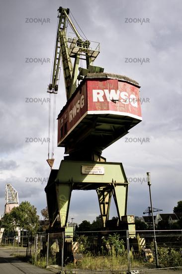 dockside crane
