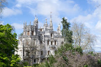 Palace at Quinta da Regaleira in Sintra