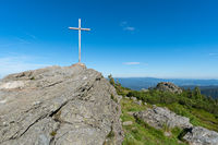 Summit cross Mt. Grosser Arber